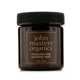 约翰大师有机物 John Masters Organics 摩洛哥泥清透面膜 (油性或混合肌肤) 57g/2oz