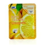 3W Clinic 面膜(清爽柠檬) 10片