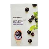 悦诗风吟 Innisfree 真萃鲜润面膜(黑莓) 10片