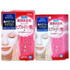 高丝/KOSE  ClearTurn White系列:玻尿酸保湿面膜  5片装