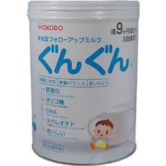 和光堂/WAKODO 9个月~3岁的宝宝奶粉二段婴幼儿奶粉 850g/听