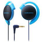 【日本直邮】铁三角/Audio Technica COLORS 挂耳式耳机 蓝色 ATH-EQ500-BL