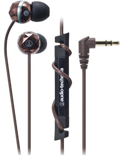 【日本直邮】铁三角/Audio Technica ATH-CKF303 BW 入耳式耳机/耳塞