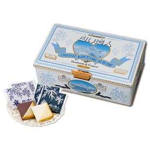 白色恋人/WHITE LOVER    白色恋人 巧克力夹心饼干 54枚装