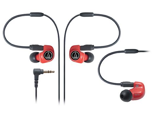 【日本直邮】铁三角/Audio Technica ATH-IM70 双动圈可换线入耳式耳机/耳塞