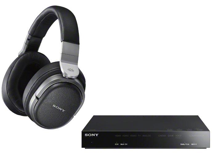 【日本直邮】索尼/SONY MDR-HW700DS 头戴式无线耳机 1个