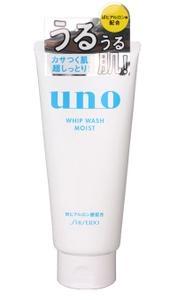 资生堂/SHISEIDO UNO吾诺 男士洗面奶  130g 毛孔清透澄净洁面乳(白色)
