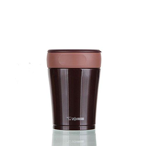 【日本直邮】象印/ZOJIRUSHI 不锈钢保温保冷闷烧杯 SW-GA36  咖啡色