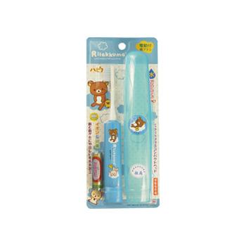 【日本直邮】Minimum 轻松熊系列电动儿童牙刷 三色可选 蓝色