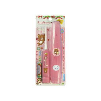 【日本直邮】Minimum 轻松熊系列电动儿童牙刷 三色可选 粉色