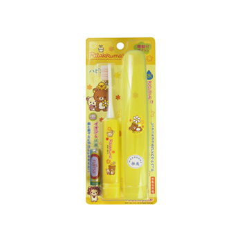 【日本直邮】Minimum 轻松熊系列电动儿童牙刷 三色可选 黄色