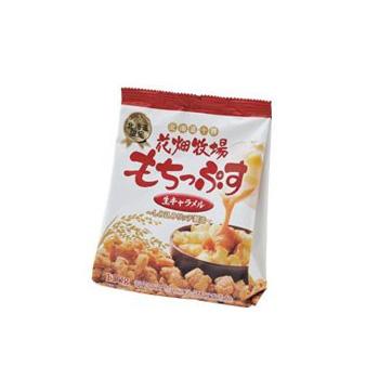 【日本直邮】花畑牧场  焦糖糯米空心脆 焦糖牛奶味 110g