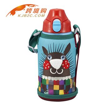 【包邮】【保税区闪送】TIGER虎牌 冷热两用 不锈钢真空儿童保温杯(撒哈拉动物系列)MBR-A06G 针鼹(不含吸管)