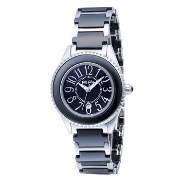 【日本直邮】芙丽芙丽/Folli Follie フォリフォリ CERAMICSPORT WF0A033BDK手表