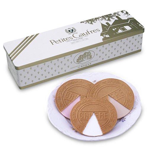 【日本直邮】神户风月堂 迷你欧芙琉璃夹心薄饼 10S