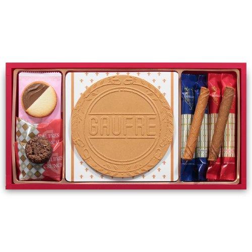 【日本直邮】神户风月堂 交响曲夹心薄饼套装 15套礼盒装