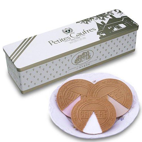【日本直邮】神户风月堂 迷你欧芙琉璃夹心薄饼 15S