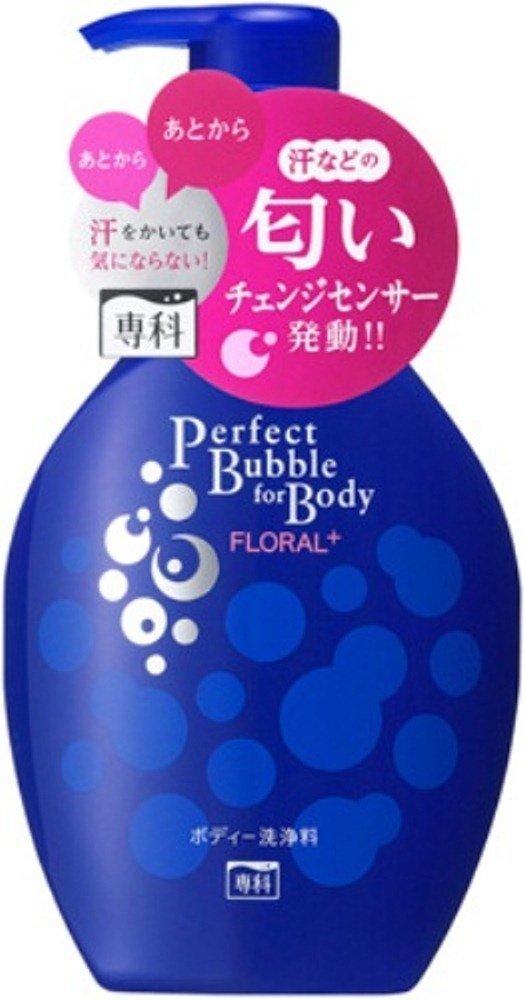 【日本直邮】资生堂/shiseido  专科完美泡沫FLORAL+沐浴露  500ml