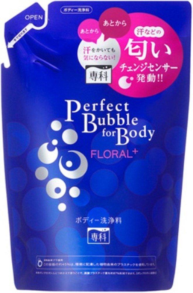 【日本直邮】资生堂/shiseido  专科完美泡沫FLORAL+沐浴露  350ml   替换装