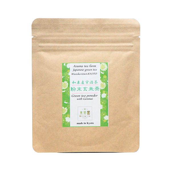 【日本直邮】京都东茶园/Azuma 带抹茶的玄米茶 50g【采购不到】