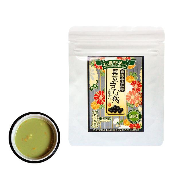 【日本直邮】京都东茶园/Azuma 无糖抹茶黑豆粉 40g