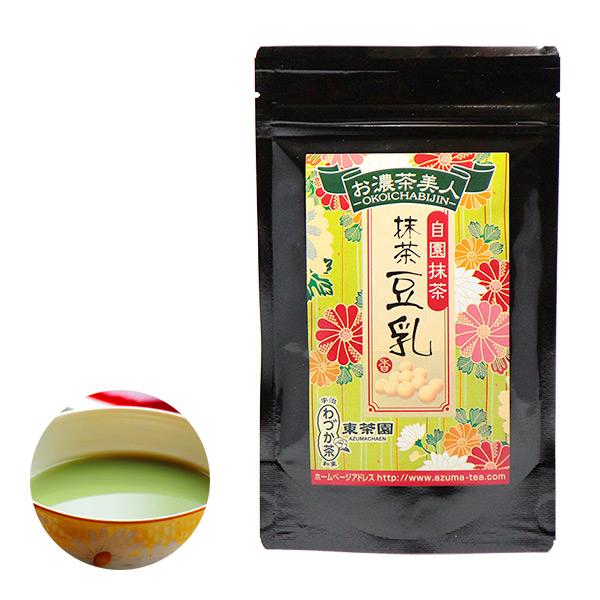 【日本直邮】京都东茶园/Azuma 抹茶豆奶 100g