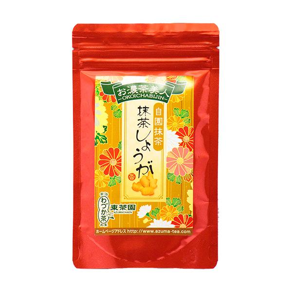 【日本直邮】京都东茶园/Azuma 抹茶生姜 100g