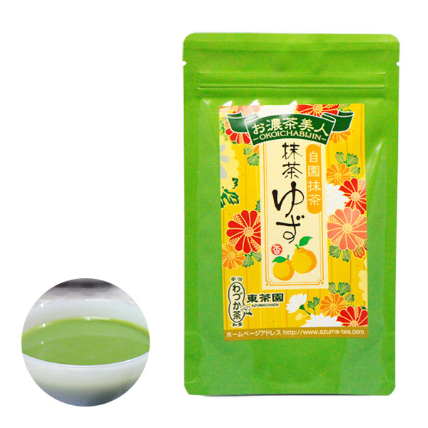【日本直邮】京都东茶园/Azuma 抹茶柚子 100g