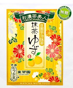 【日本直邮】京都东茶园/Azuma 无糖柚子抹茶 40g