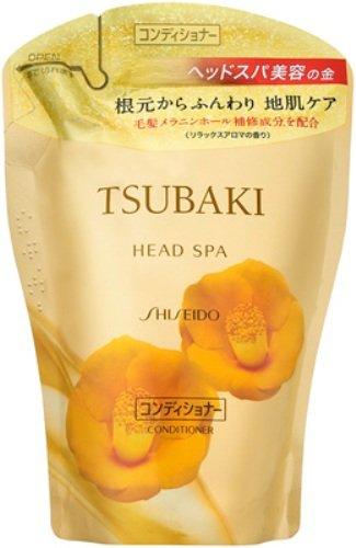 【日本直邮】资生堂/Shiseido  丝蓓绮 金椿蜜护发素 替换装 400ml
