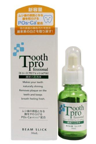 【日本直邮】Tooth Pro 液体牙膏 速效牙齿美白液30ml