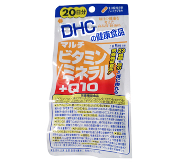 蝶翠诗/DHC  多种维生素+矿物质+Q10 100粒