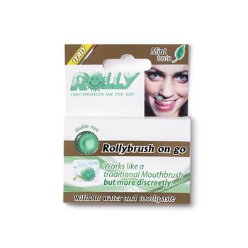 【日本直邮】Rolly Brush 世界上最小的咀嚼式牙刷6枚
