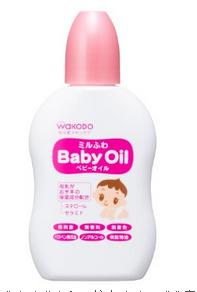 【日本直邮】和光堂/Wakodo 宝宝洗护 低敏婴儿保湿橄榄润肤油/按摩油/抚触油 50ml