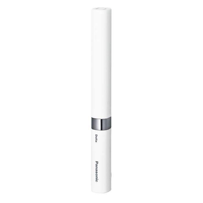 【日本直邮】松下/Panasonic 电动牙刷 超声波振动 男士袖珍口袋牙刷 EW-DS18-W 白色