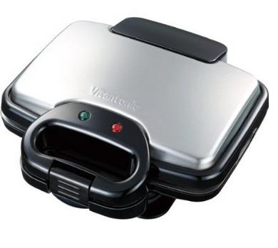 【日本直邮】Vitantonio 松饼机 华夫饼机VWH-100-K 附带三个烤盘