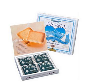 【顺丰包邮】【中国现货】白色恋人/WHITE LOVER 北海道名产白巧克力夹心饼干 12枚装