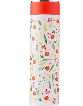 【包邮】【保税区闪送】孔雀/PEACOCK FJK50系列 不锈钢马克保温杯 0.5L 红黑花色