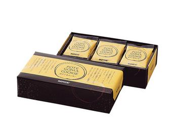 【包邮】【日本直邮】ROYCE  北海道马铃薯芝麻巧克力曲奇饼干15枚  3盒装