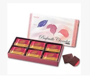 【包邮】【日本直邮】ROYCE  北海道三莓果酱巧克力薄片礼盒 30枚 2盒