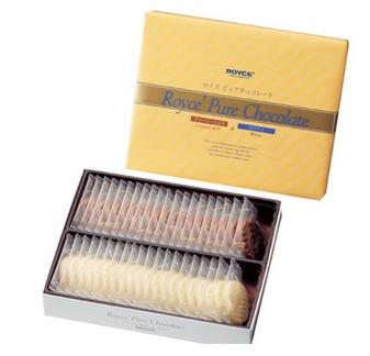 【包邮】【日本直邮】ROYCE  北海道奶油/忌廉牛奶+白巧克力礼盒 40枚 2盒装