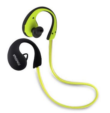 【日本直邮】艾玛酷/Imarku  Bluetooth 4.0挂耳式高音质运动蓝牙耳机 绿色
