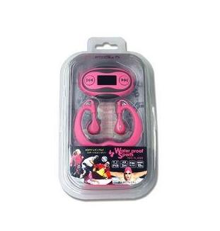 【日本直邮】舞台耳机/Stayer 防水MP3音乐播发器  ST-PMPW1PK  粉红色