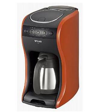 【日本直邮】虎牌/Tiger  ACT-B040系列不锈钢真空保温壶多功能咖啡机 ACT-B040-DV橘色