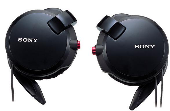 【日本直邮】索尼/SONY 耳机 MDR-Q68LW 自动卷线耳挂耳机 CHK R 110 黑色