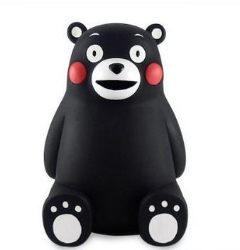 【日本直邮】熊本/kumamon 萌熊系列创意存钱罐 1个
