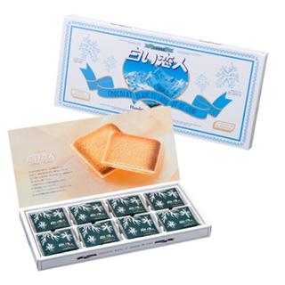 白色恋人/WHITE LOVER人 白巧克力夹心饼干 24枚