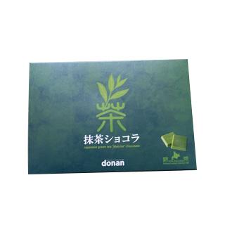 【日本直邮】北海道 抹茶巧克力90g/盒(含20枚)