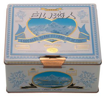 【包邮】【日本直邮】北海道名产  白色恋人巧克力夹心饼干 黑白混合 36枚装1盒