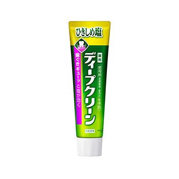【日本直邮】花王/Kao 深层清洁齿周病预防含盐牙膏 绿茶薄荷 100克